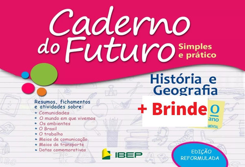 caderno do futuro 5º ano história/geografia - do professor