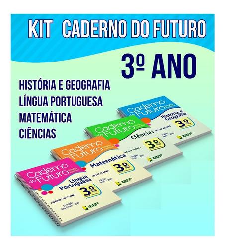 caderno do futuro kit digital do 3 ano
