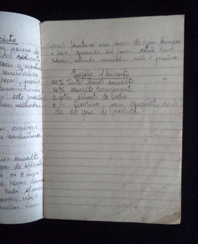 caderno  escola colégio propaganda antiga