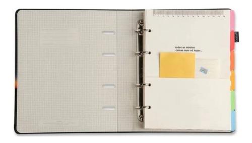 caderno fichário arg. 12 mat.-pólen amarelo-cicero