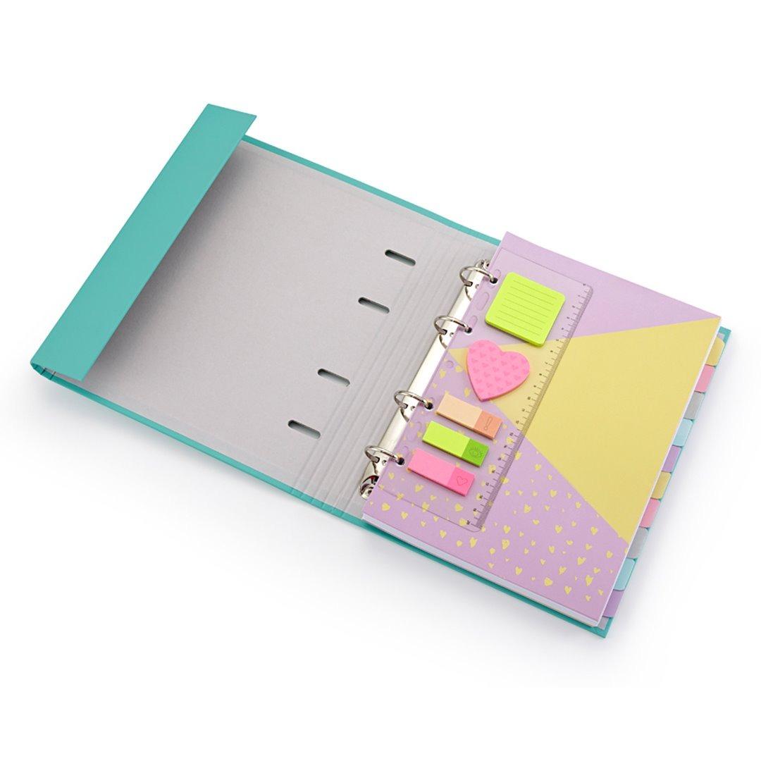 cb0e22bde Caderno Fichario Romantic Vd Otima Gráfica+190fls+div. - R$ 119,00 ...