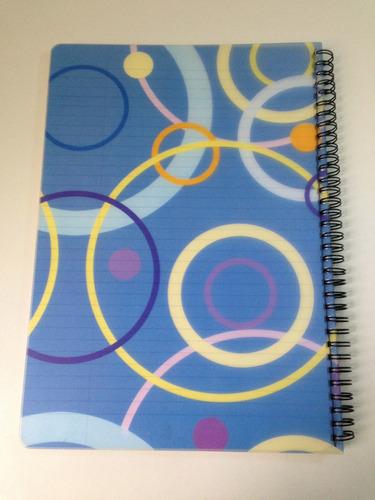 caderno importado com 70 folhas