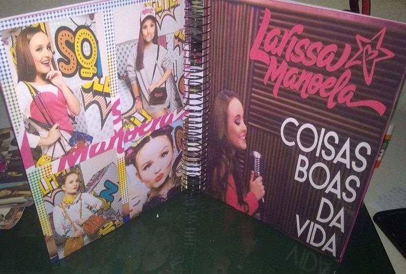 Caderno Larissa Manoela 1 Materia 557889 - R  30,00 em Mercado Livre dcc190befa