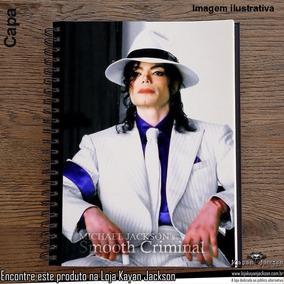 5b1d5b0ce4 Caderno Do Michael Jackson - Materiais Escolares no Mercado Livre Brasil