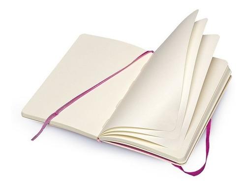caderno moleskine original purple g capa flex s pauta 3722