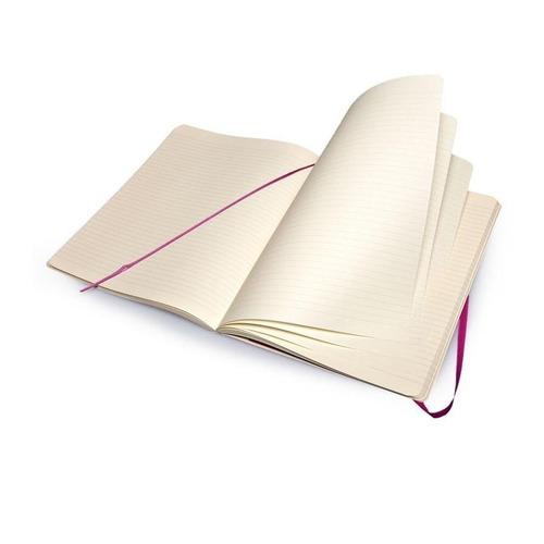 caderno moleskine original purple pautado gg capa flex 3760