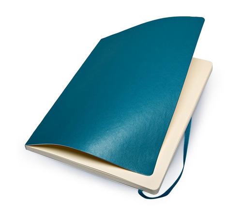 caderno moleskine original s pauta gg azul capa flex 3838