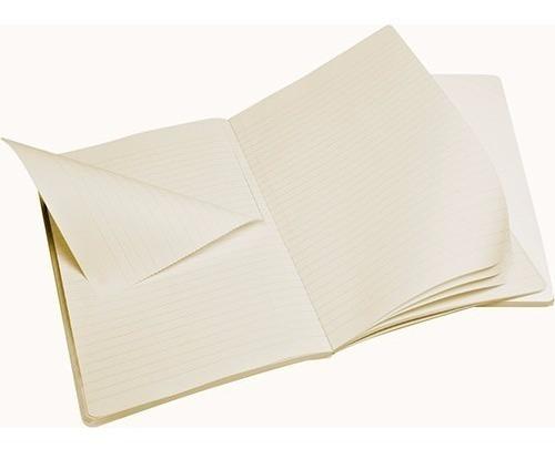 caderno moleskine volant gde pautado branco conj c/ 2 - 523