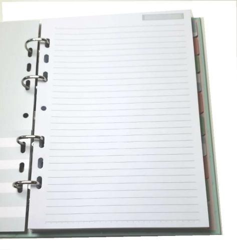 caderno riccio ultra verde fechamento imã