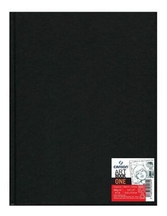 caderno sketchbook canson artbook one 100g a4 98 folhas