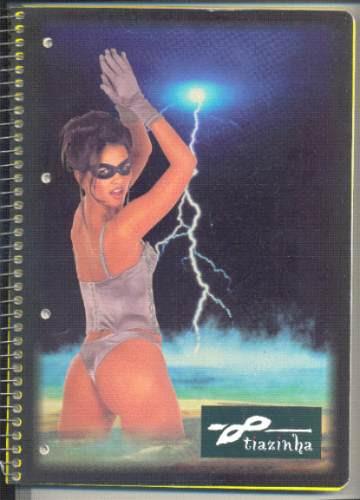 caderno tiazinha - raridade - excelente estado - colecione