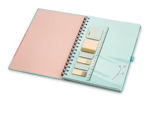 caderno ultra de wire-o la bela -  ótima gráfica