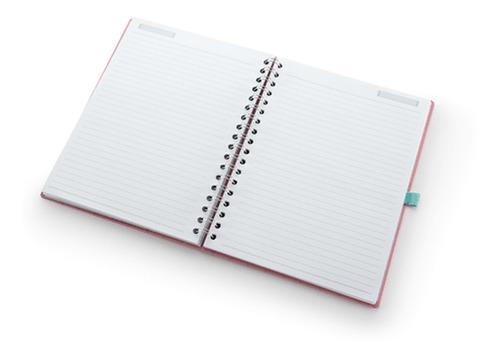 caderno ultra de wire-o riccio -  ótima gráfica