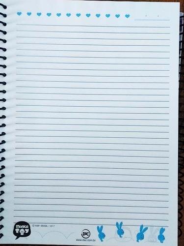 caderno universitário da turma da mônica 2426 dac