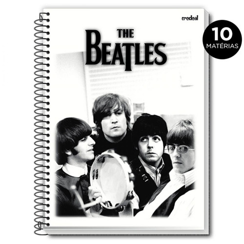 caderno universitario the beatles*/ modelo2