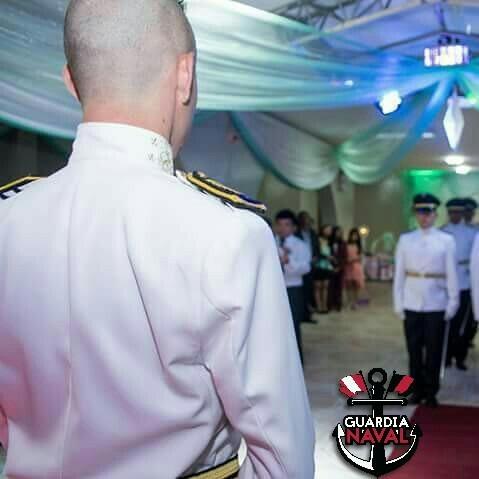 cadetes, cruce de espadas, chambelanes la guardia naval