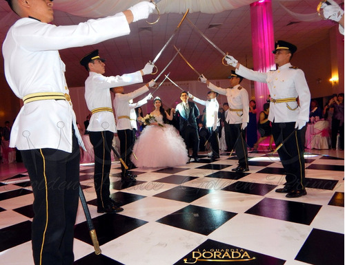 cadetes para 15 años chambelanes & cruce de espadas en lima