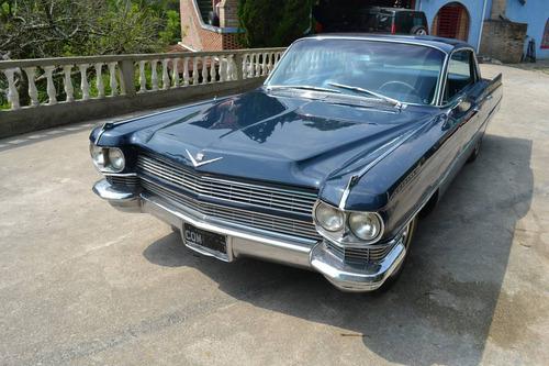 cadillac 1964 sedan  deville completo  placa preta