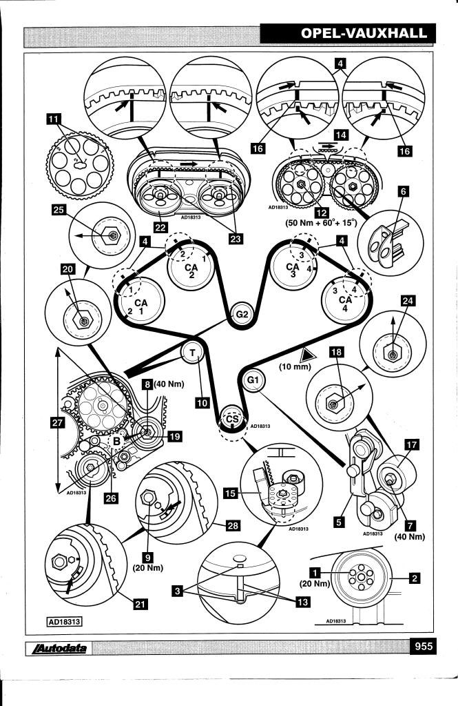 97 Cadillac Catera Engine Diagram
