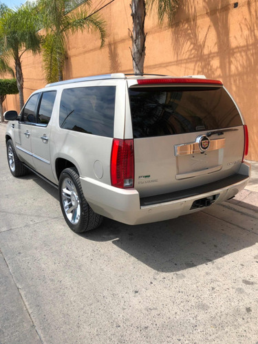 cadillac escalade esv 6.2 platinum qc dvd r-22 4x4 at 2011