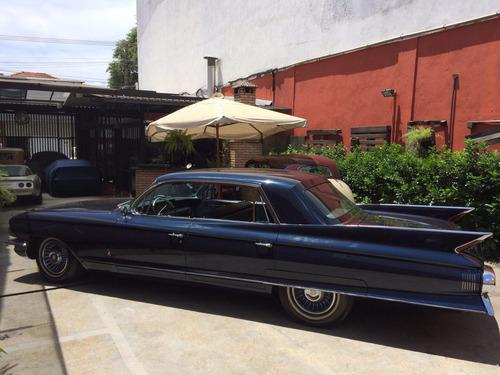 cadillac fleetwood 1961 garagem retrô