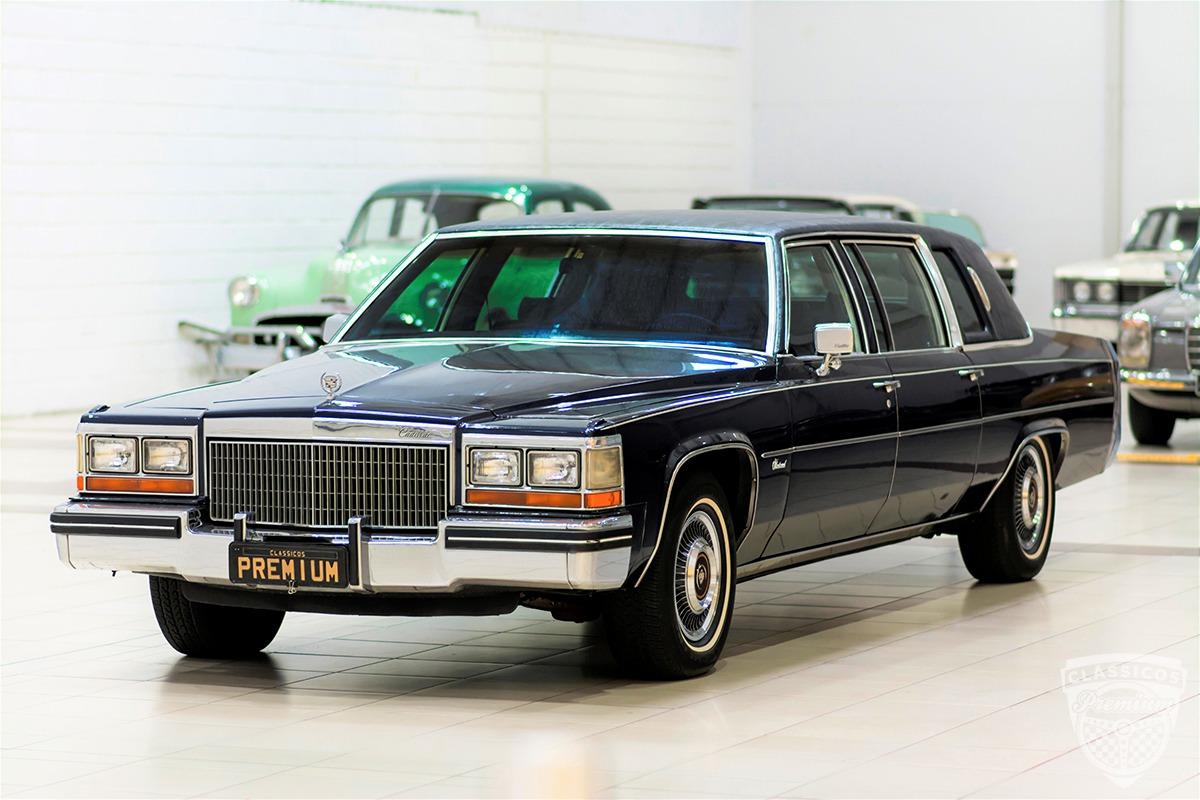 Cadillac Fleetwood 70 Limousine - 1980 80 - Placa Preta ...