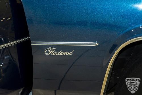cadillac fleetwood 70 limousine - 1980 80 - placa preta
