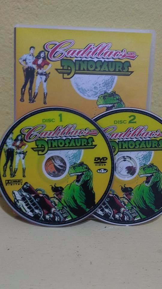 Cadillacs E Dinossauros Dvd Desenho Classico Serie R 40 00 Em