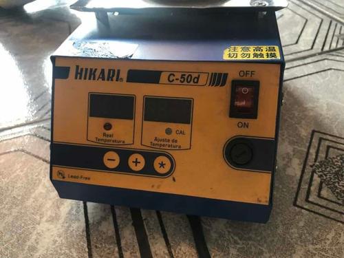 cadinho de solda digital 250w hikari c-50d