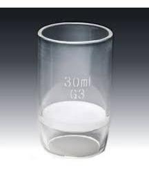 cadinho vidro placa porosa nr 5 - 30 ml extra fina  9305
