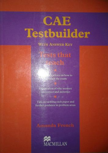 cae test builder with key