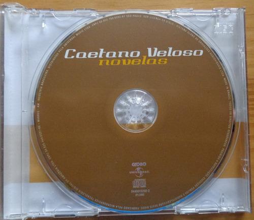 caetano veloso cd nacional novelas 2002 usado