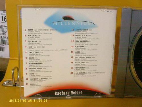 caetano veloso - série millennium - cd