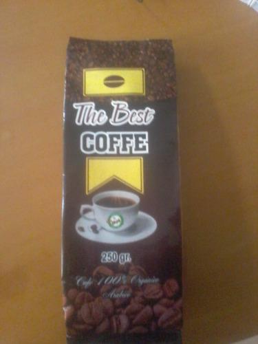 cafe 100% orgánico. 250 gr.  chirinos san ignacio.