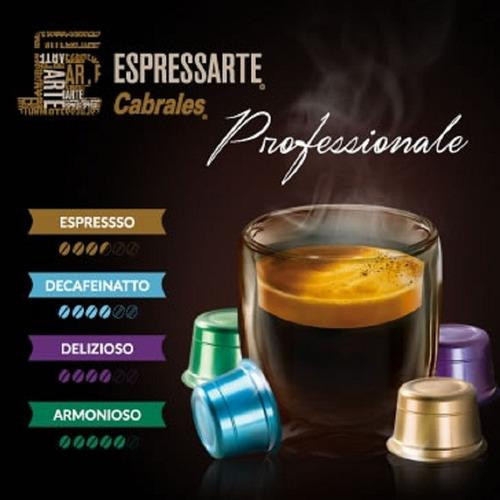 cafe cabrales espressarte espresso professionale 10 capsulas