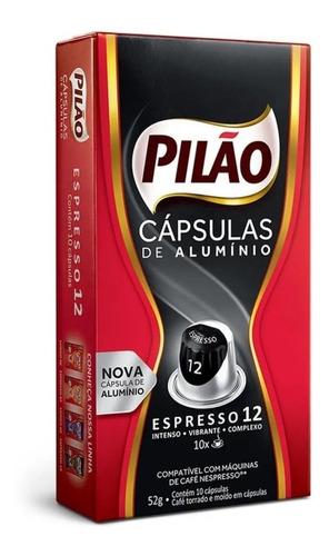 café cápsulas pilão espresso 12