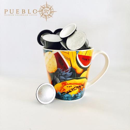 cafe colombiano capsulas monodosis compatible nespresso