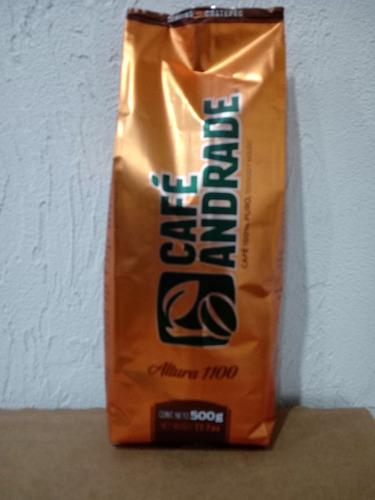 cafe de veracruz de altura tostado y molido andrade 500 g