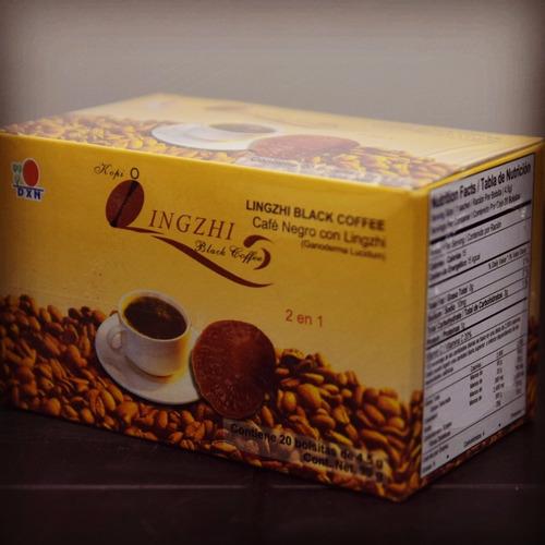 cafe dxn con ganoderma lucidum saludable lingzhi hongo