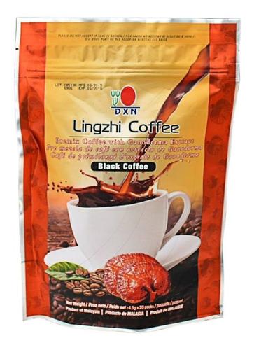 cafe dxn negro 2 en 1