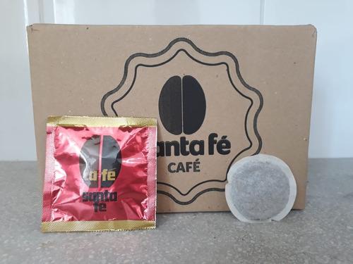 café em sachês santa fé intenso compatível senseo c/75