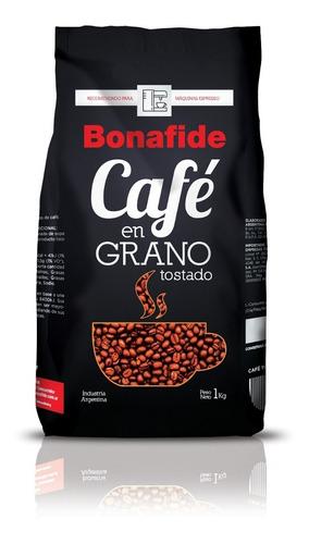 cafe en grano tostado bonafide expresso 1 kg