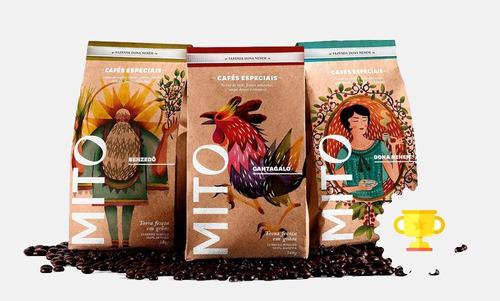 café especial mito cantagalo 340g. grãos. bourbon amarelo. s