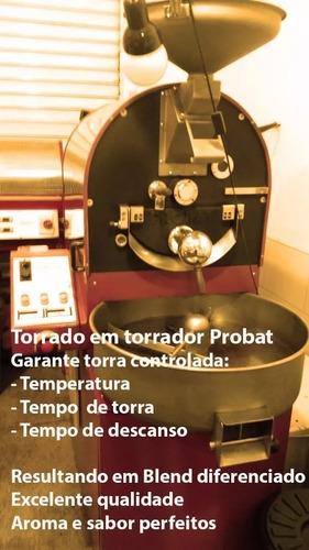 café especial orgânico gourmet certificado - grão/moído 1 kg
