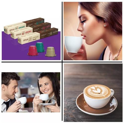 cafe espressarte descaffeinato cabrales nespresso 10 capsula