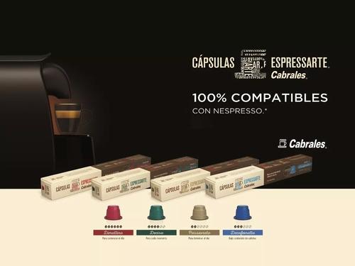 cafe espressarte dimattina cabrales nespresso x10 capsulas