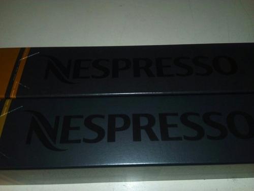 café expreso en capsulas