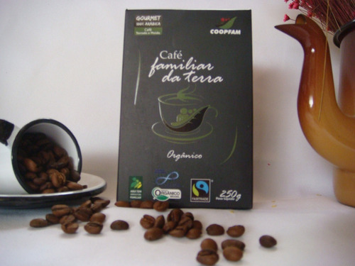 café familiar da terra orgânico