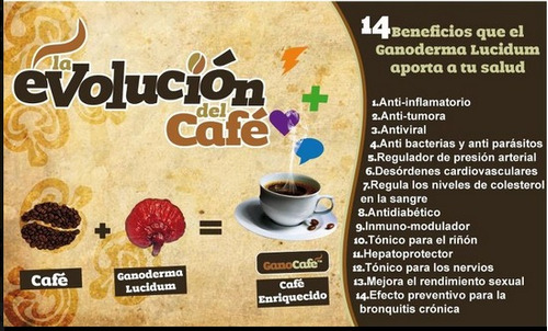 cafe ganoderma dxn  2 en 1