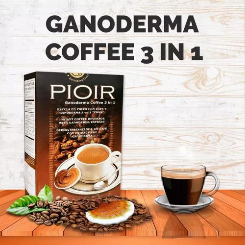 café gourmet 3 en 1 con extracto de ganoderma lucidum